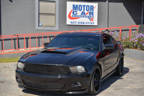 2012 Ford Mustang for sale at Motor Car Concepts II - Apopka Location in Apopka FL