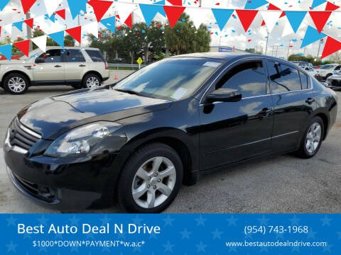 2007 Nissan Altima for sale at Best Auto Deal N Drive in Hollywood FL