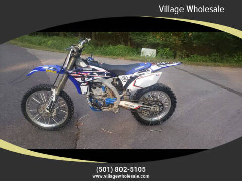 2010 Yamaha YZ250F for sale at Village Wholesale in Hot Springs Village AR
