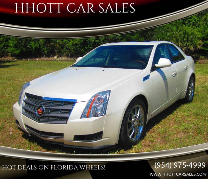 2009 Cadillac CTS for sale at HHOTT CAR SALES in Deerfield Beach FL
