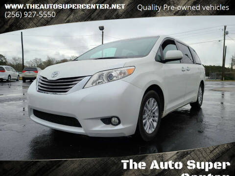 2015 Toyota Sienna for sale at The Auto Super Center in Centre AL