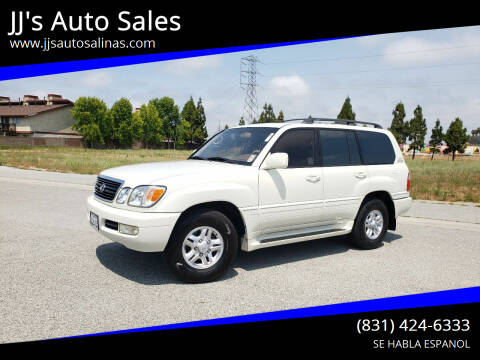 1998 Lexus LX 470 for sale at JJ's Auto Sales in Salinas CA