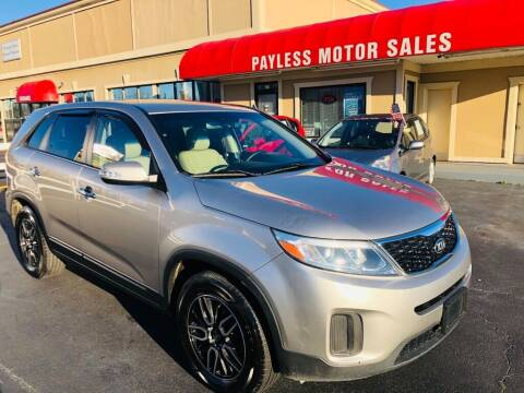 2014 Kia Sorento for sale at Payless Motor Sales LLC in Burlington NC