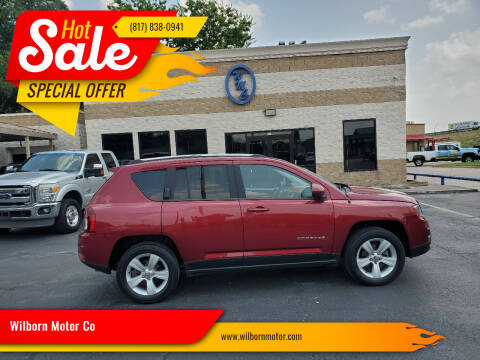 2015 Jeep Compass for sale at Wilborn Motor Co in Fort Worth TX