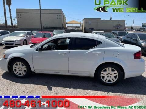2014 Dodge Avenger for sale at UPARK WE SELL AZ in Mesa AZ