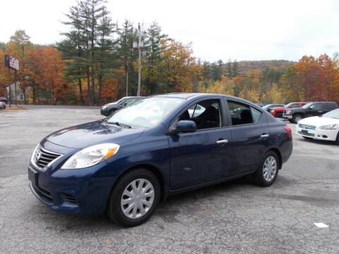 2014 Nissan Versa for sale at Manchester Motorsports in Goffstown NH
