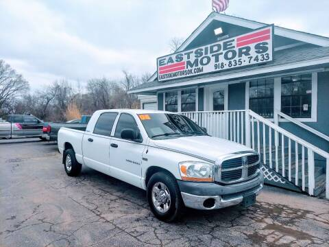 2006 Dodge Ram Pickup 1500 for sale at EASTSIDE MOTORS in Tulsa OK