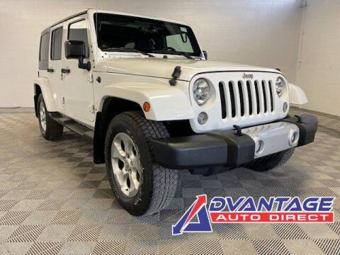 2015 Jeep Wrangler Unlimited for sale at Advantage Auto Direct in Kent WA