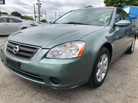 2003 Nissan Altima for sale at Capital Motors in Raleigh NC