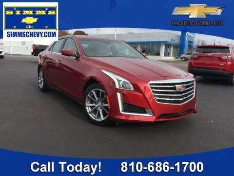 2017 Cadillac CTS for sale at Aaron Adams @ Simms Chevrolet in Clio MI