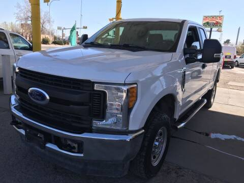 2017 Ford F-250 Super Duty for sale at Fiesta Motors Inc in Las Cruces NM