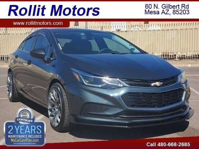 2018 Chevrolet Cruze for sale at Rollit Motors in Mesa AZ