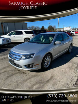 2012 Ford Fusion for sale at Sapaugh Classic Joyride in Salem MO