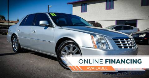 2011 Cadillac DTS for sale at Rahimi Automotive Group in Yuma AZ