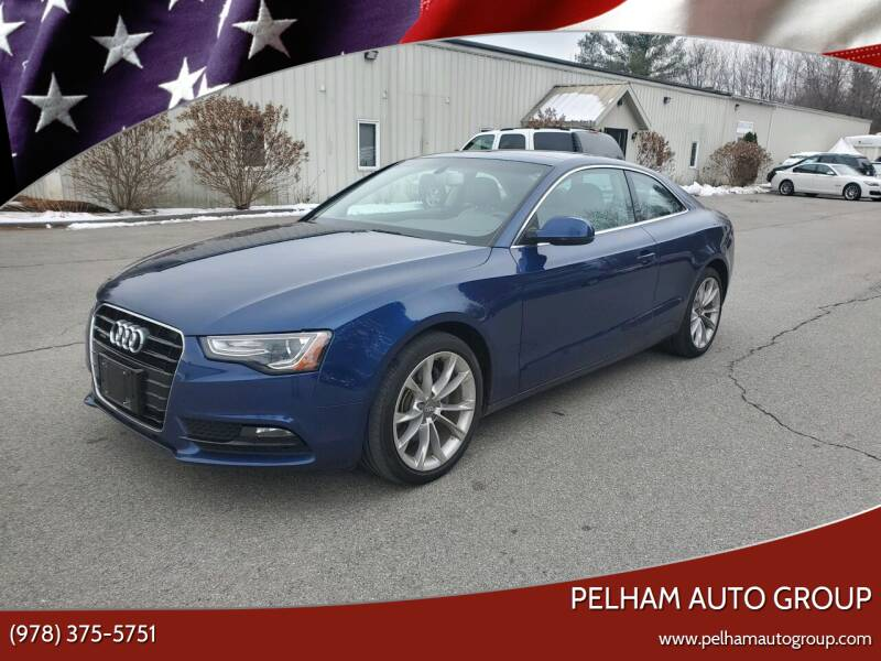 2014 Audi A5 for sale at Pelham Auto Group in Pelham NH