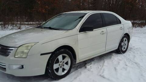 2008 Ford Fusion for sale at Expressway Auto Auction in Howard City MI