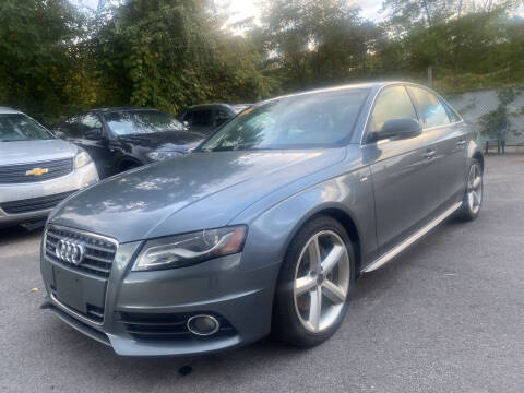 2012 Audi A4 for sale at Royal Crest Motors in Haverhill MA