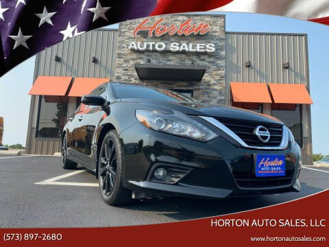 2017 Nissan Altima for sale at HORTON AUTO SALES, LLC in Linn MO