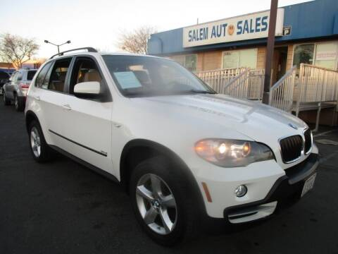 2008 BMW X5 for sale at Salem Auto Sales in Sacramento CA