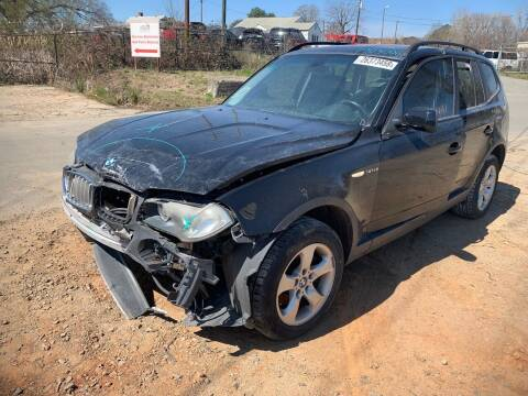 2007 BMW X3 for sale at ASAP Car Parts in Charlotte NC