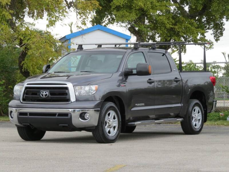 2012 Toyota Tundra for sale at DK Auto Sales in Hollywood FL