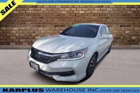 2017 Honda Accord Hybrid for sale at Karplus Warehouse in Pacoima CA