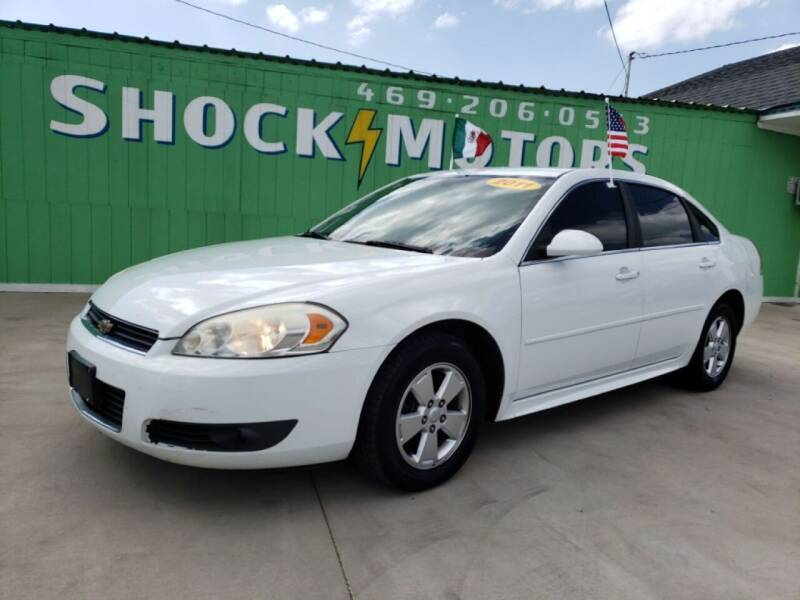 2011 Chevrolet Impala for sale at Shock Motors in Garland TX