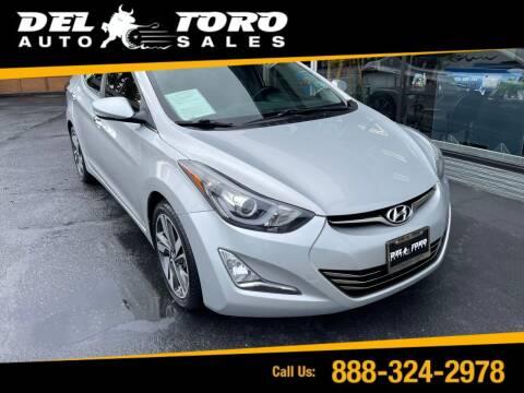 2014 Hyundai Elantra for sale at DEL TORO AUTO SALES in Auburn WA