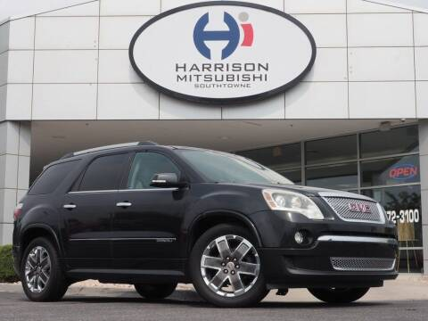 2011 GMC Acadia for sale at Harrison Imports in Sandy UT