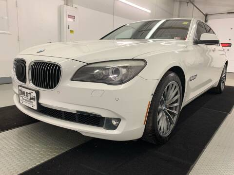 2011 BMW 7 Series for sale at TOWNE AUTO BROKERS in Virginia Beach VA