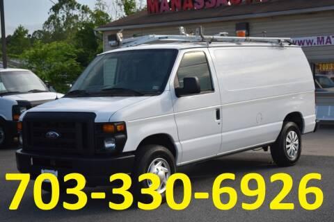 2011 Ford E-Series Cargo for sale at MANASSAS AUTO TRUCK in Manassas VA