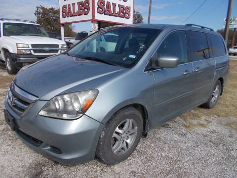 2007 Honda Odyssey for sale at OTTO'S AUTO SALES in Gainesville TX