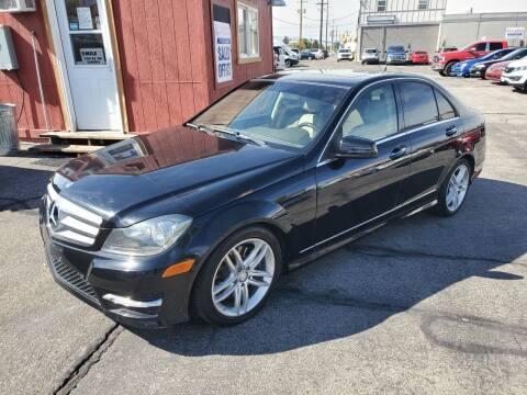 2013 Mercedes-Benz C-Class for sale at Curtis Auto Sales LLC in Orem UT