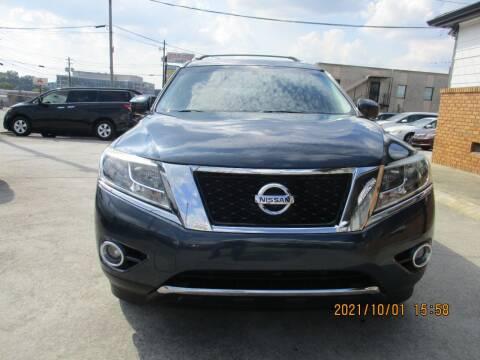 2015 Nissan Pathfinder for sale at Atlantic Motors in Chamblee GA
