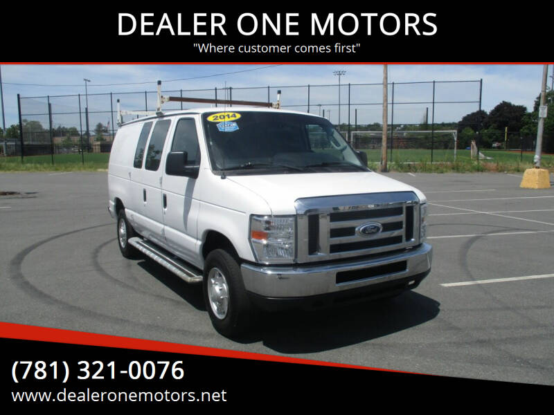 2014 Ford E-Series Cargo for sale at DEALER ONE MOTORS in Malden MA