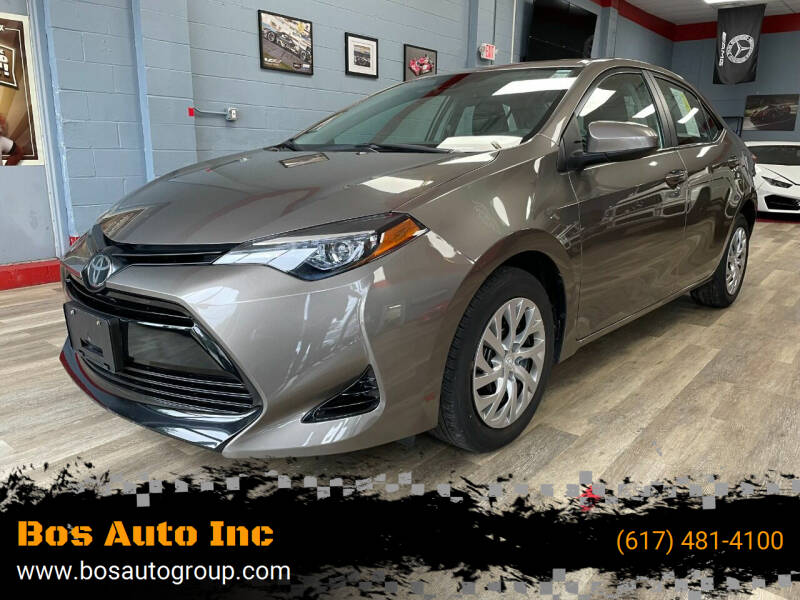 2019 Toyota Corolla for sale at Bos Auto Inc in Quincy MA