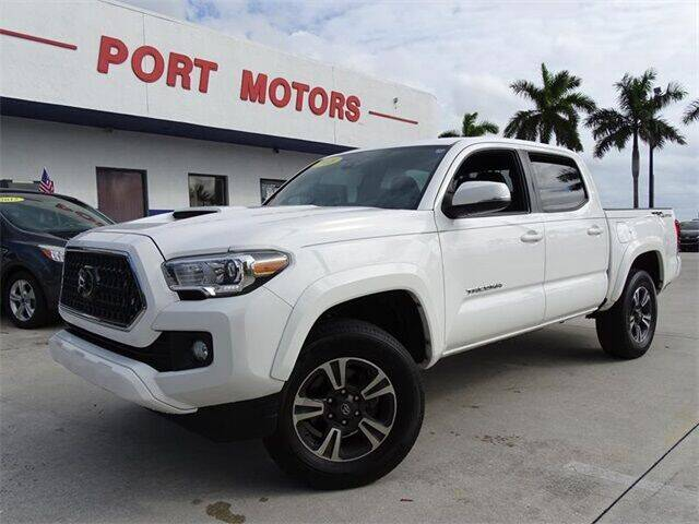 2018 Toyota Tacoma for sale at Automotive Credit Union Services in West Palm Beach FL