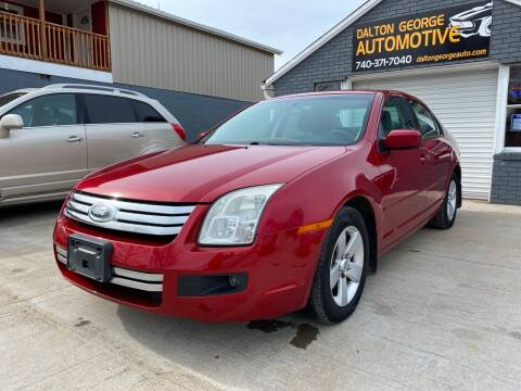 2008 Ford Fusion for sale at Dalton George Automotive in Marietta OH