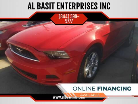 2013 Ford Mustang for sale at AL BASIT ENTERPRISES INC in Riverside CA