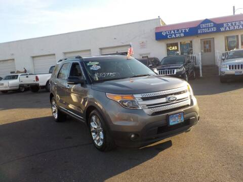 2011 Ford Explorer for sale at United Auto Land in Woodbury NJ