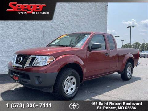 2016 Nissan Frontier for sale at SEEGER TOYOTA OF ST ROBERT in Saint Robert MO