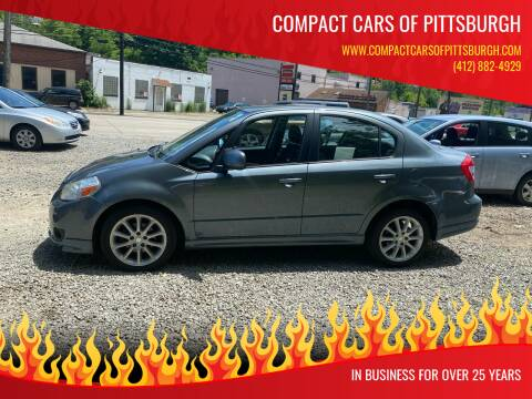 2009 Suzuki SX4 for sale at Compact Cars of Pittsburgh in Pittsburgh PA