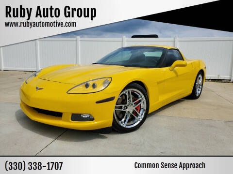 2006 Chevrolet Corvette for sale at Ruby Auto Group in Hudson OH