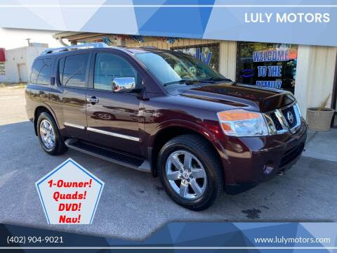 2013 Nissan Armada for sale at Luly Motors in Lincoln NE