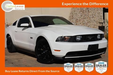2012 Ford Mustang for sale at Dallas Auto Finance in Dallas TX