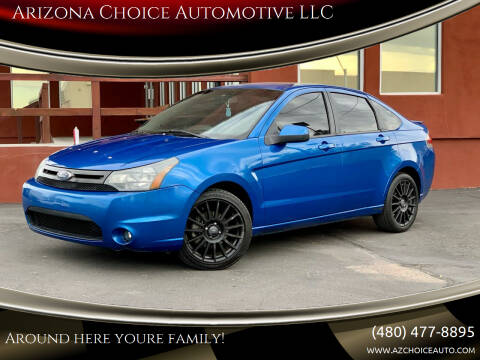 2010 Ford Focus for sale at Arizona Choice Automotive LLC in Mesa AZ