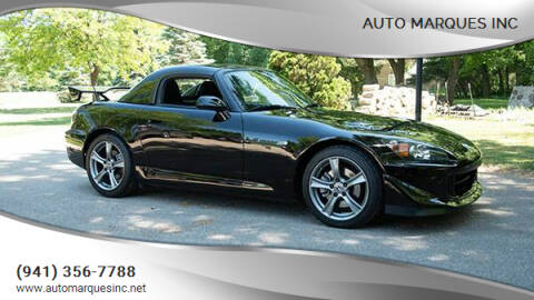 2008 Honda S2000 for sale at Auto Marques Inc in Sarasota FL