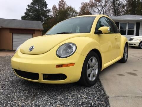 2006 Volkswagen New Beetle for sale at Efficiency Auto Buyers in Milton GA