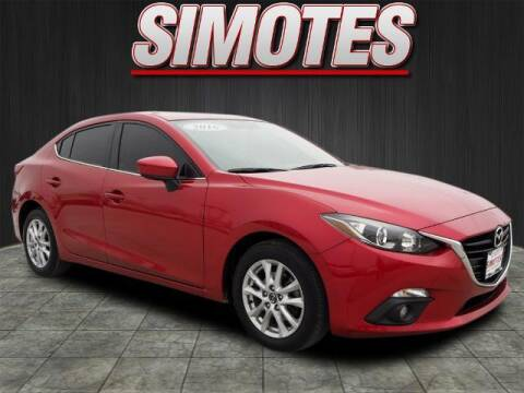 2016 Mazda MAZDA3 for sale at SIMOTES MOTORS in Minooka IL