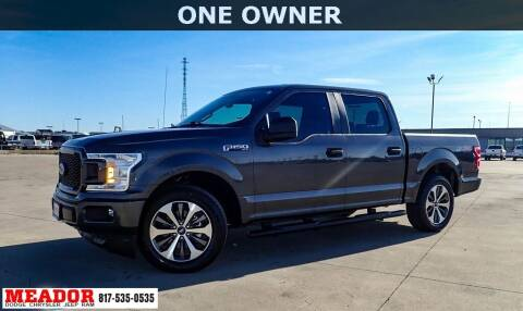 2019 Ford F-150 for sale at Meador Dodge Chrysler Jeep RAM in Fort Worth TX